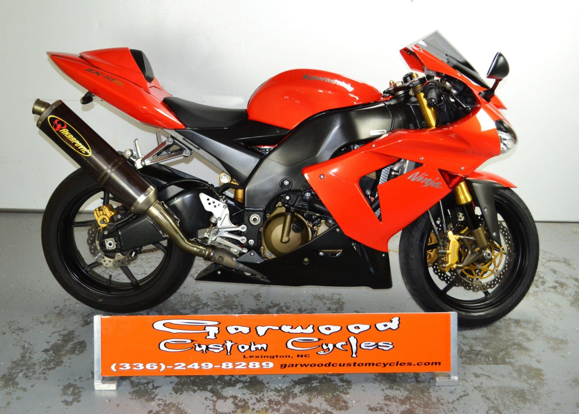 2005 Kawasaki ZX-10 in Lexington, North Carolina