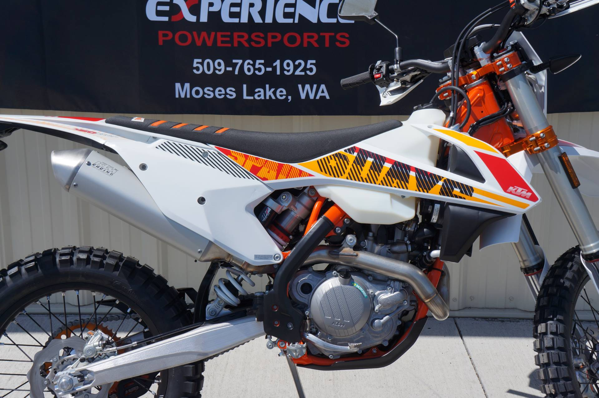 2017 KTM 450 EXC-F Six Days in Moses Lake, Washington