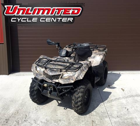 2014 Suzuki KingQuad® 400ASi Camo in Tyrone, Pennsylvania