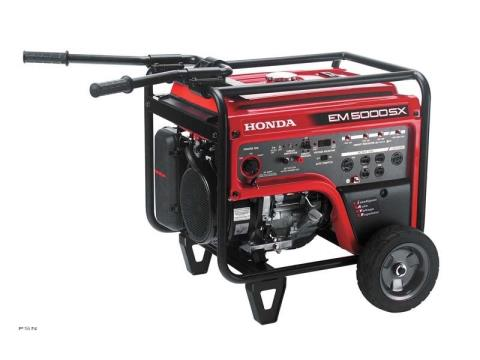 2011 Honda Power Equipment EM5000S in Brighton, Michigan