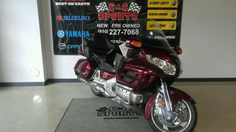 2006 Honda Gold Wing® Audio / Comfort / Navi in Brighton, Michigan