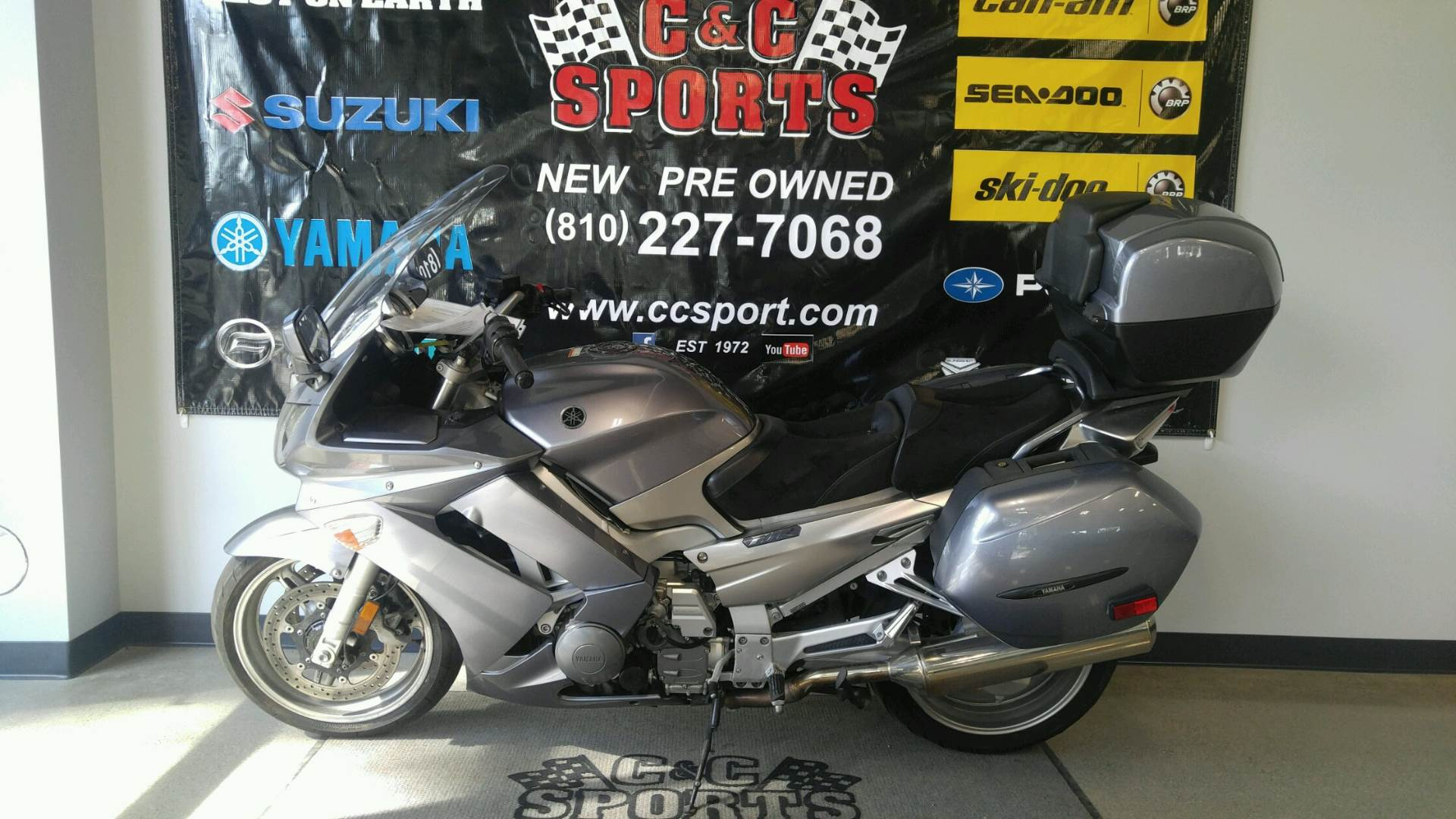 2007 Yamaha FJR 1300AE in Brighton, Michigan