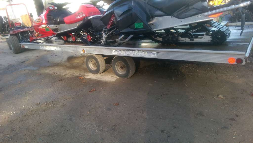 2003 Sled Bed 8-1/2 x 20 Aluminum Tandem in Brighton, Michigan