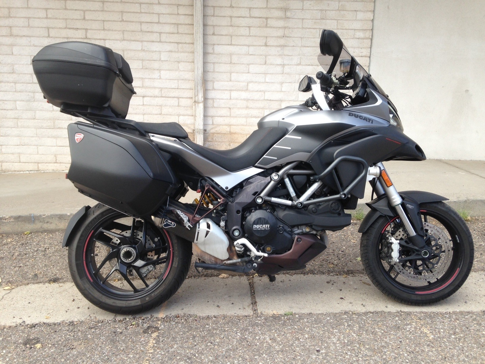 2013 Ducati Multistrada 1200 S Touring in Albuquerque, New Mexico