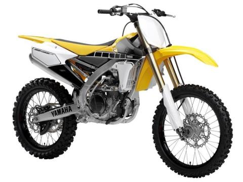 2016 Yamaha YZ450F 60th Anniversary Yellow / Black in Baldwin, Michigan