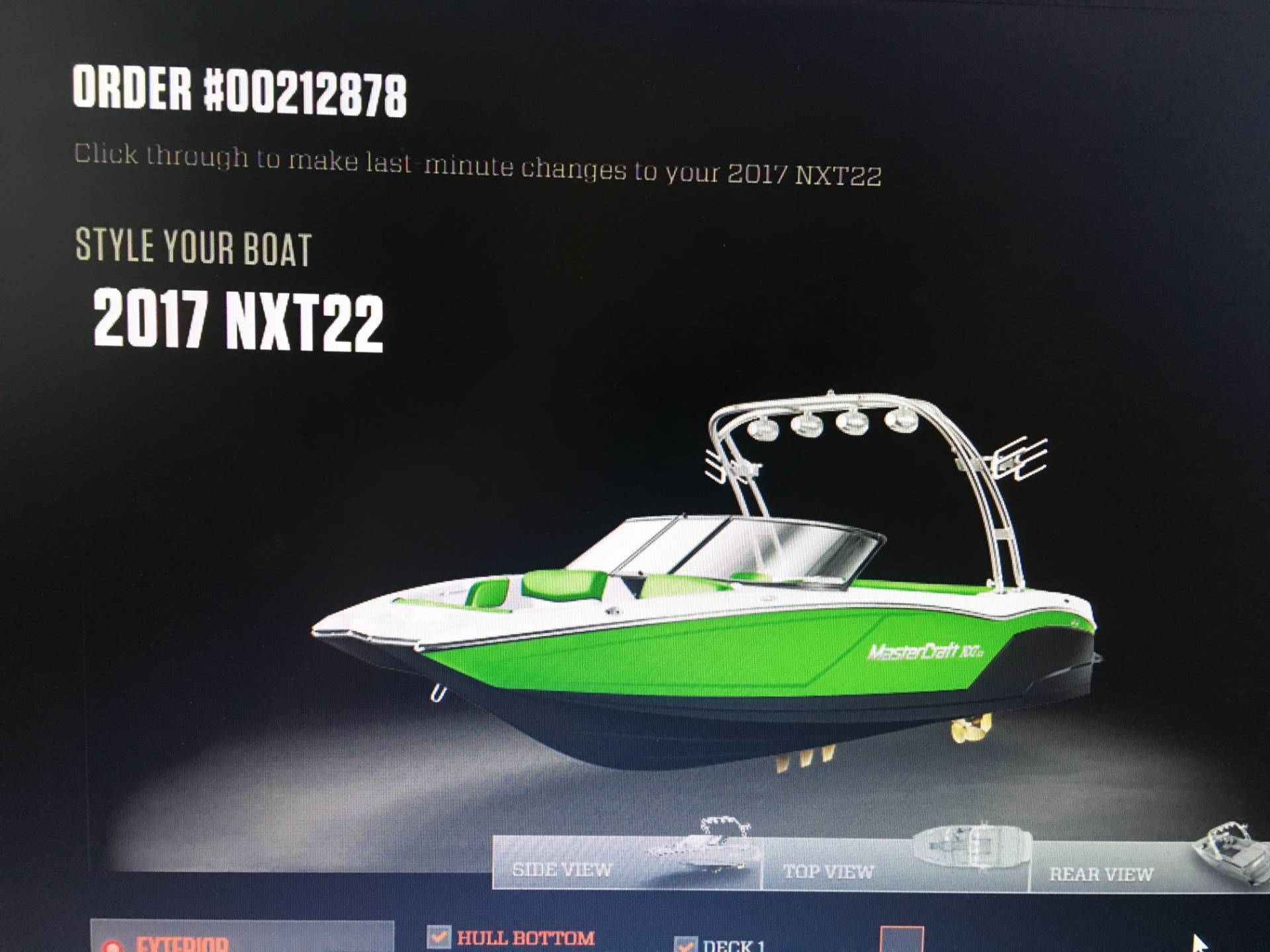 2017 Mastercraft NXT22 in Manitou Beach, Michigan