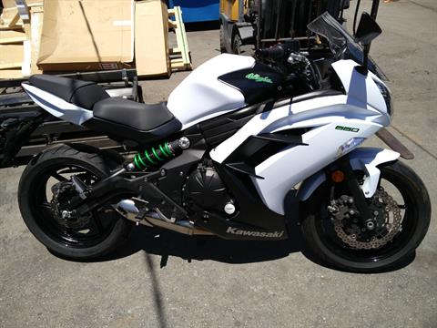 2015 Kawasaki Ninja® 650 in San Jose, California