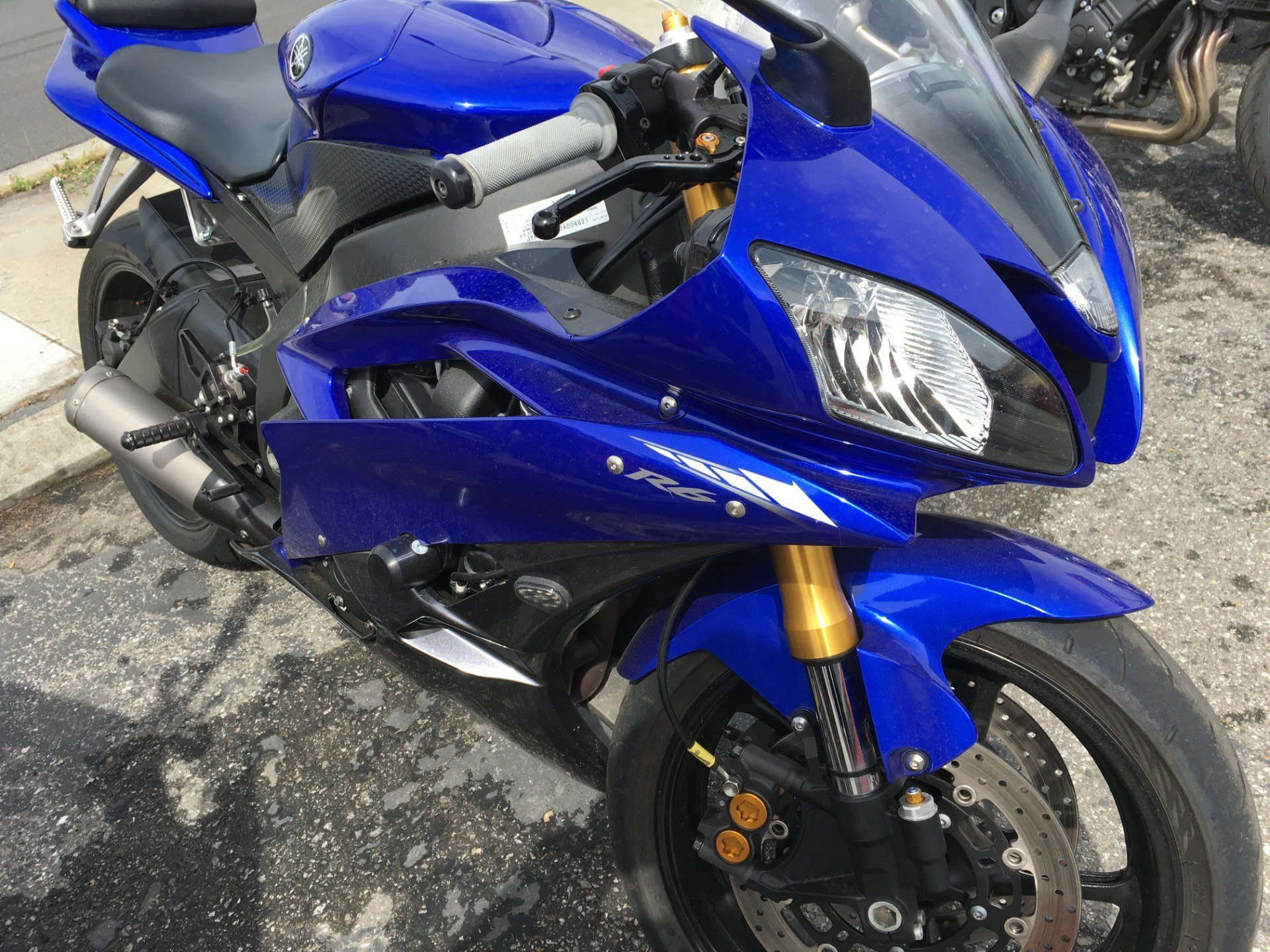 2007 Yamaha YZF-R6 in San Jose, California