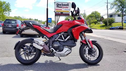 2014 Ducati Multistrada 1200 S Touring in Fort Montgomery, New York