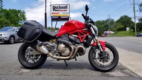 2016 Ducati Monster 821 in Fort Montgomery, New York