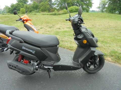 2015 Genuine Scooters Hooligan 170i in South Haven, Michigan