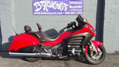 2013 Honda Gold Wing® F6B in West Bridgewater, Massachusetts