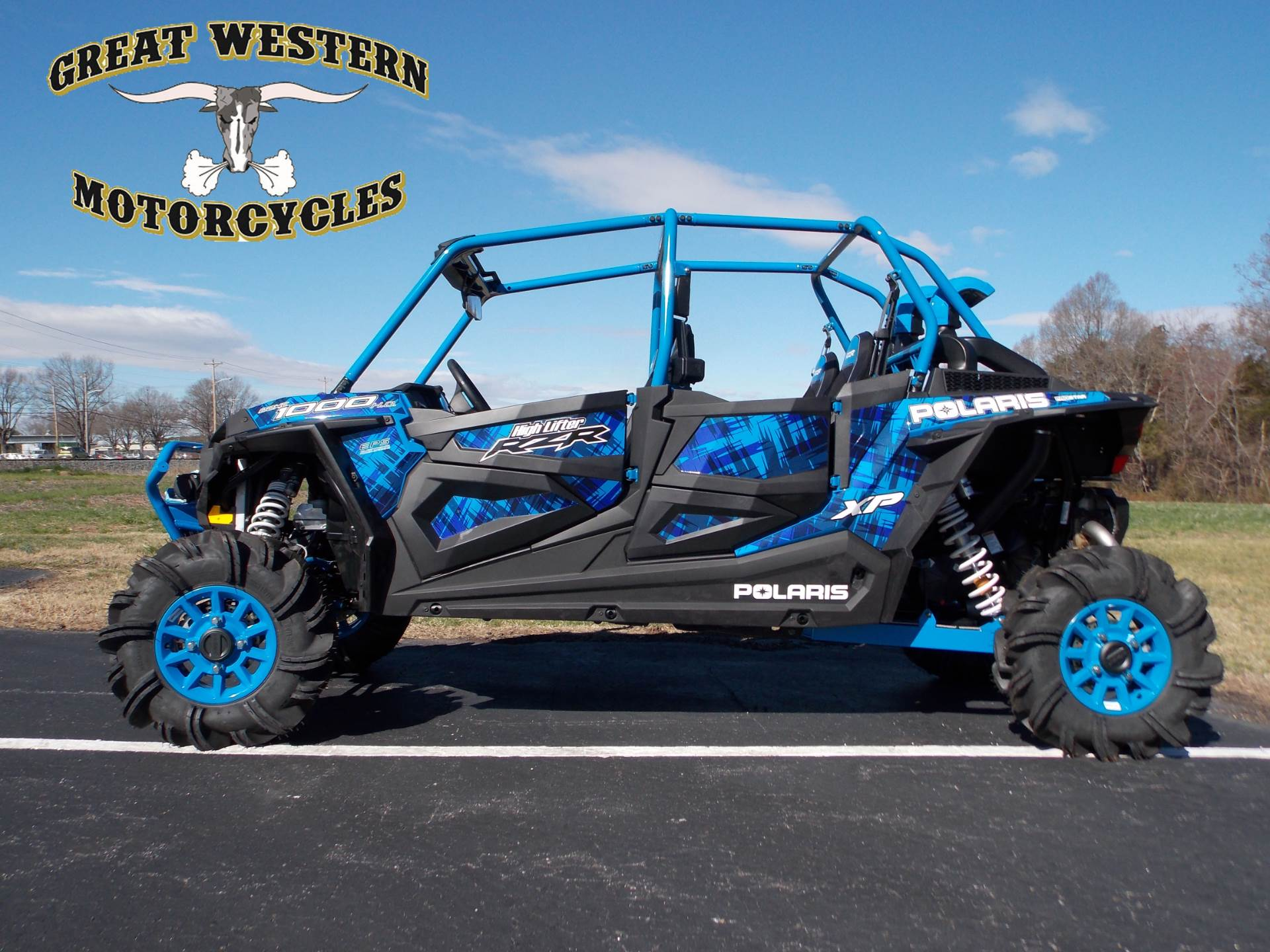 2017 Polaris RZR XP 4 1000 EPS High Lifter Edition in Statesville, North Carolina