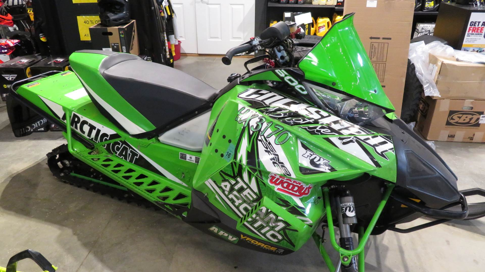 2013 Arctic Cat Sno Pro® 500 in Dickinson, North Dakota