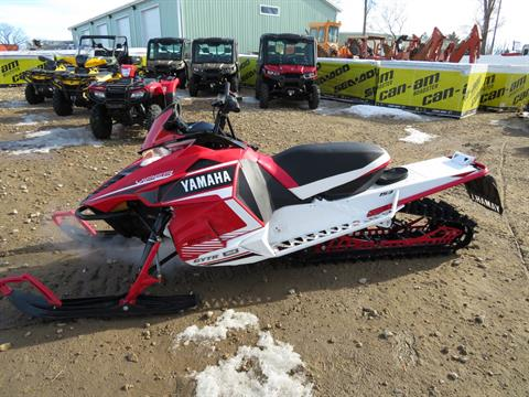 2016 Yamaha SRViper M-TX 153 LE in Dickinson, North Dakota