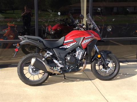 2017 Honda CB500X in Greensburg, Indiana
