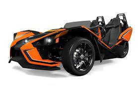 2017 Polaris SLINGSHOT SLR ORANGE MADNESS in Barre, Massachusetts
