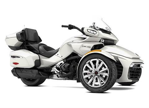 2017 Can-Am SPYDER F3 LTD 1130 ACE PEARL WHT in Barre, Massachusetts
