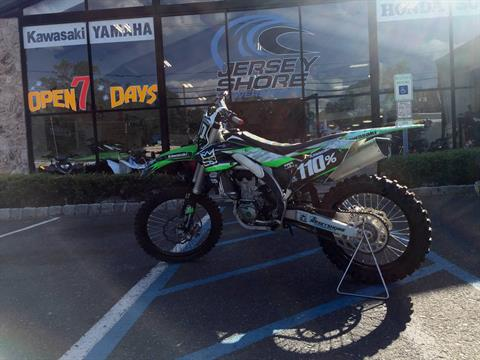 2017 Kawasaki KX450F in Middletown, New Jersey
