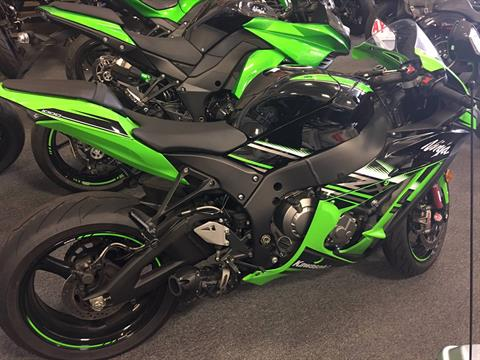 2016 Kawasaki Ninja ZX-10R ABS KRT Edition in Middletown, New Jersey