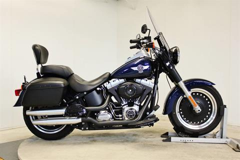 2012 Harley-Davidson Softail® Fat Boy® Lo in Pittsfield, Massachusetts