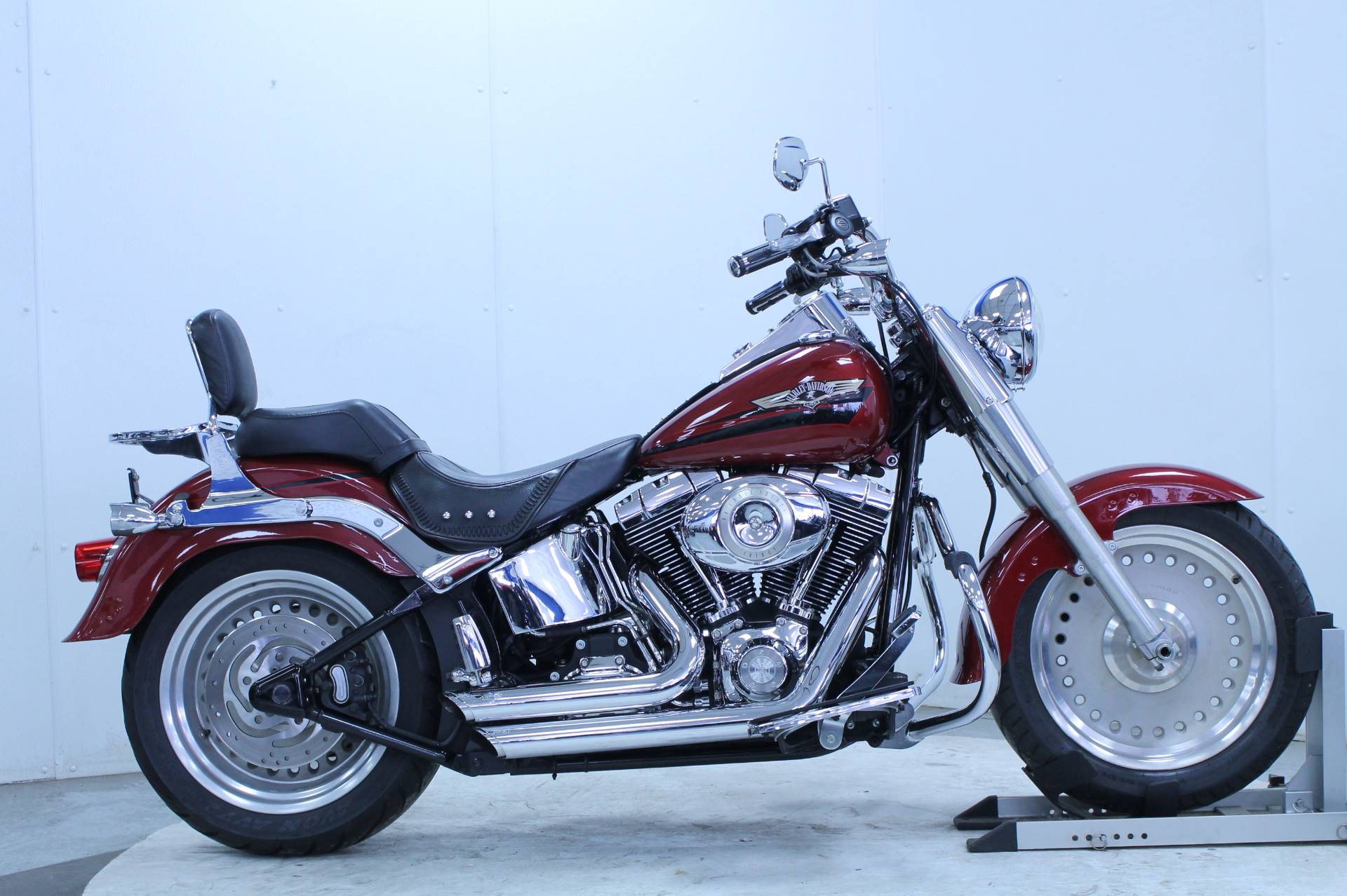 Used 2007 Harley-Davidson FLSTF Softail® Fat Boy® Motorcycles in ...