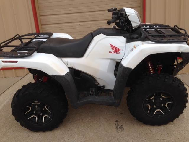 2016 Honda TRX500FA7 in Amarillo, Texas