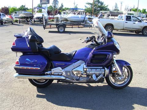 2002 Honda Goldwing GL1800 in Lakeport, California