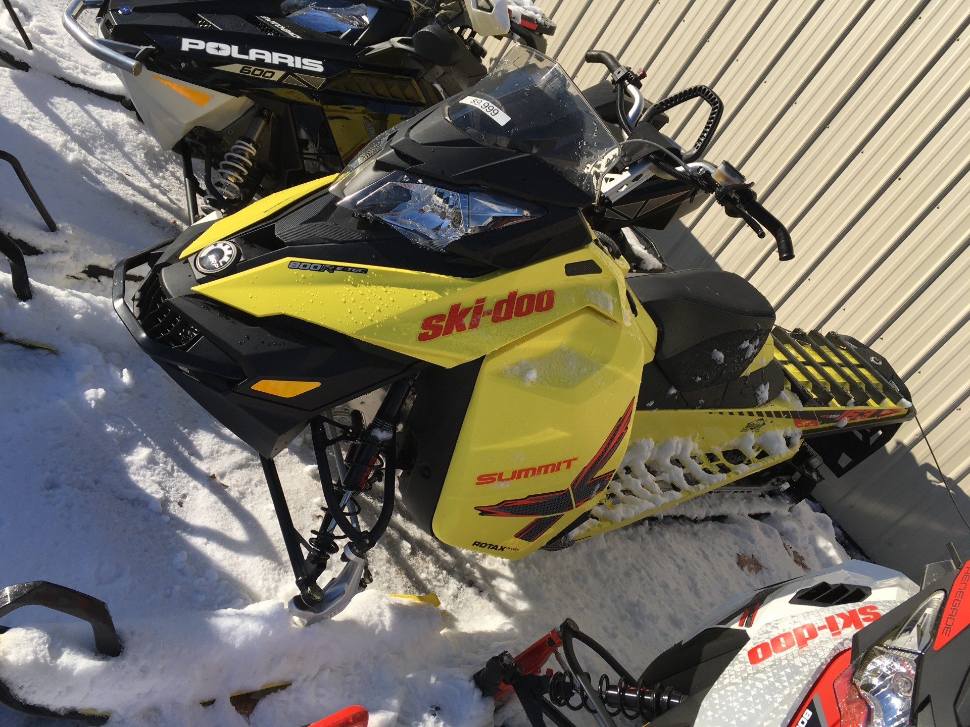 "2015 Ski-Doo Summit® X® 163 800R E-TEC®, PowderMax 3.0"" in Laconia, New Hampshire"