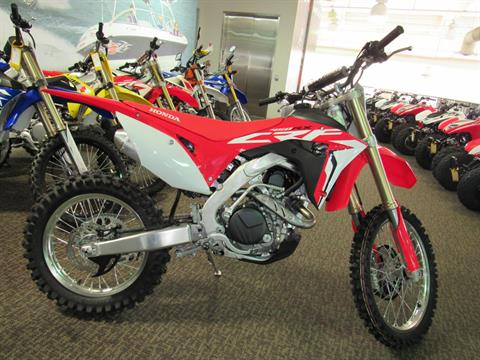2017 Honda CRF450RX in Irvine, California