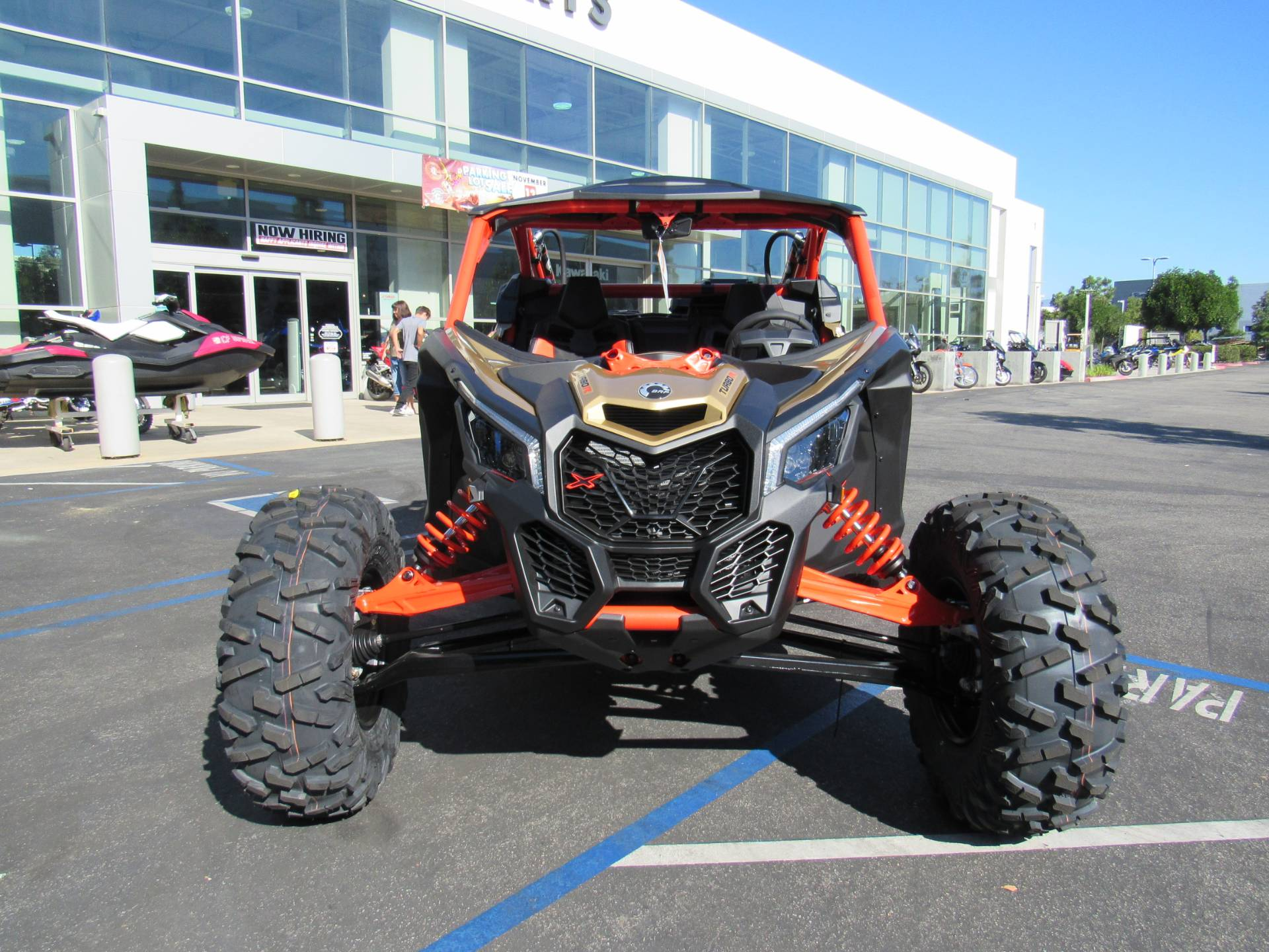2017 Can-Am Maverick X3 X rs Turbo R in Irvine, California