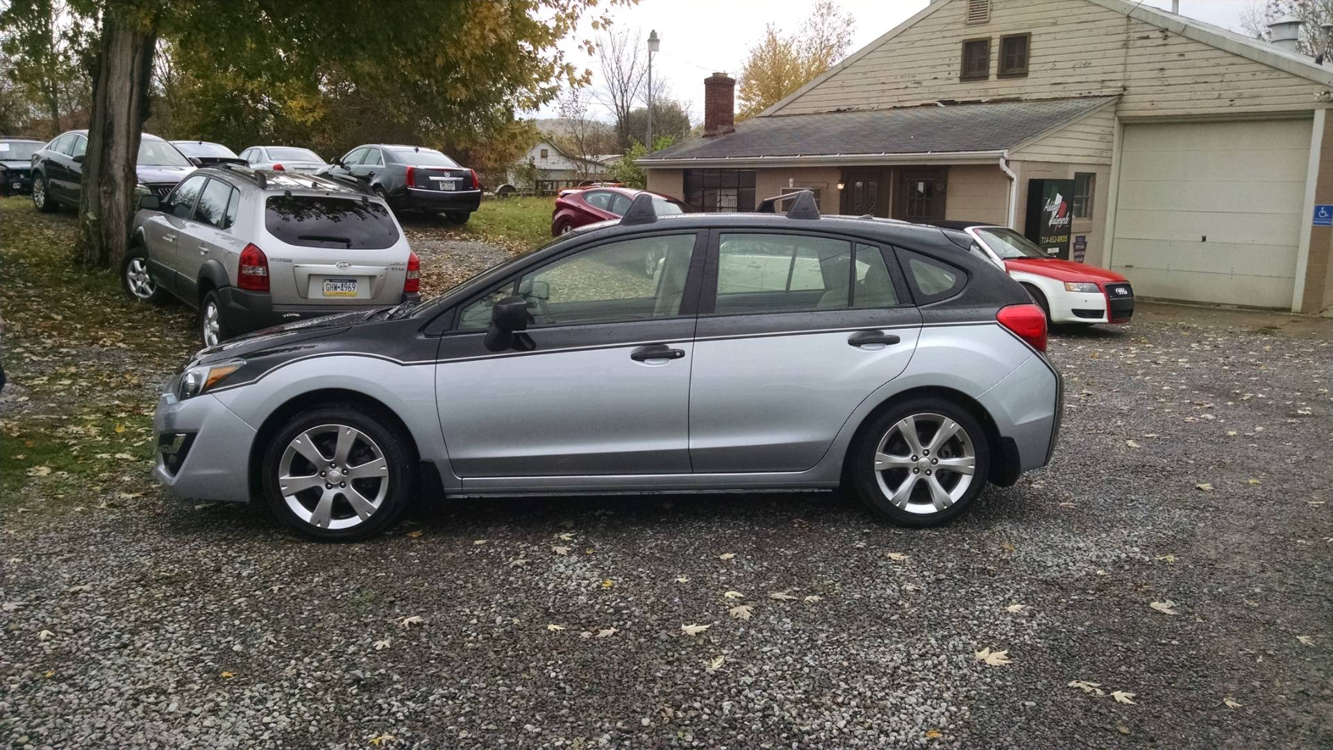 2015 Subaru Impreza Wagon 5 speed stick in Harmony, Pennsylvania