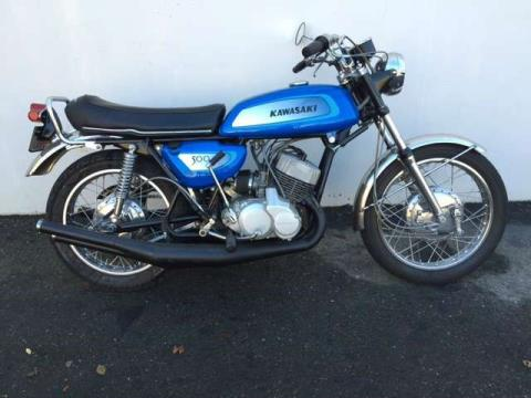1971 Kawasaki H-1 in Sacramento, California