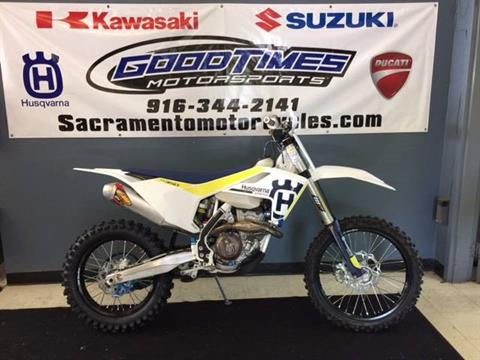 2017 Husqvarna FX 350 in Sacramento, California