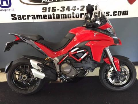 2015 Ducati Multistrada 1200 S in Sacramento, California