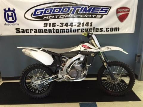 2013 Yamaha YZ450F in Sacramento, California