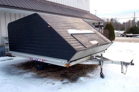 2002 Triton Trailers XT 10-101 w/ Enclosure in Barrington, New Hampshire