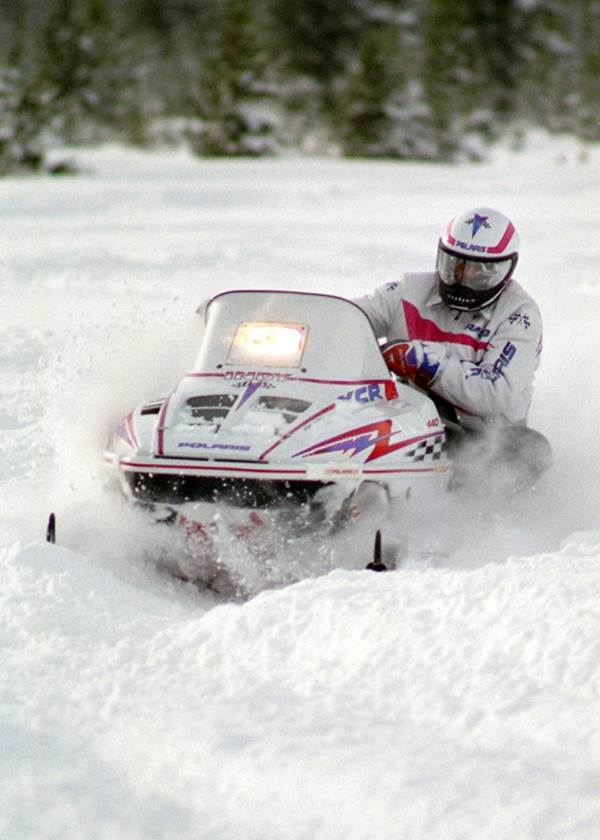 1997 Polaris INDY 600 XC in Barrington, New Hampshire