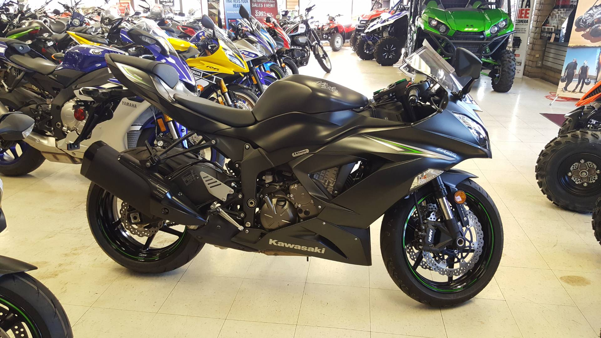 2016 Kawasaki Ninja ZX-6R ABS in Phoenix, Arizona
