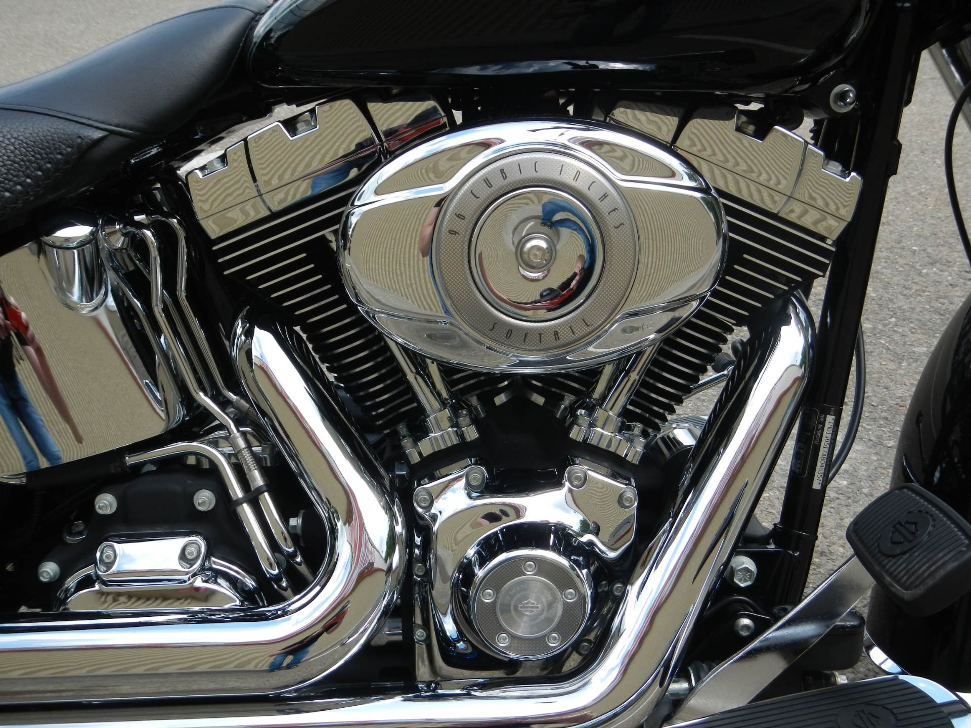 2010 Harley-Davidson Softail® Deluxe in Nutter Fort, West Virginia