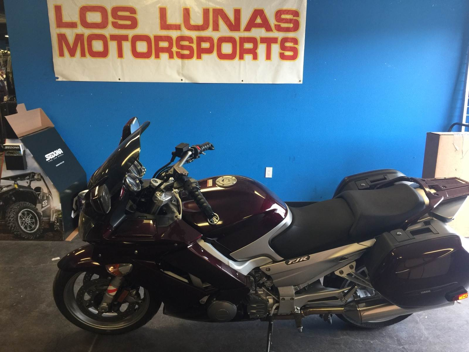2007 Yamaha FJR 1300A in Las Cruces, New Mexico