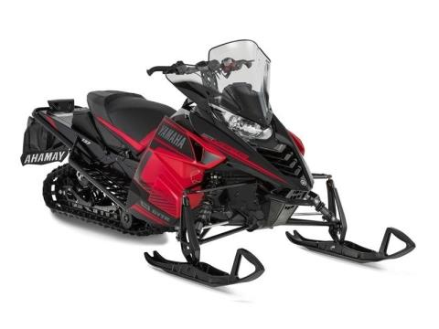 2016 Yamaha SRViper L-TX DX Black / Red in Phillipston, Massachusetts