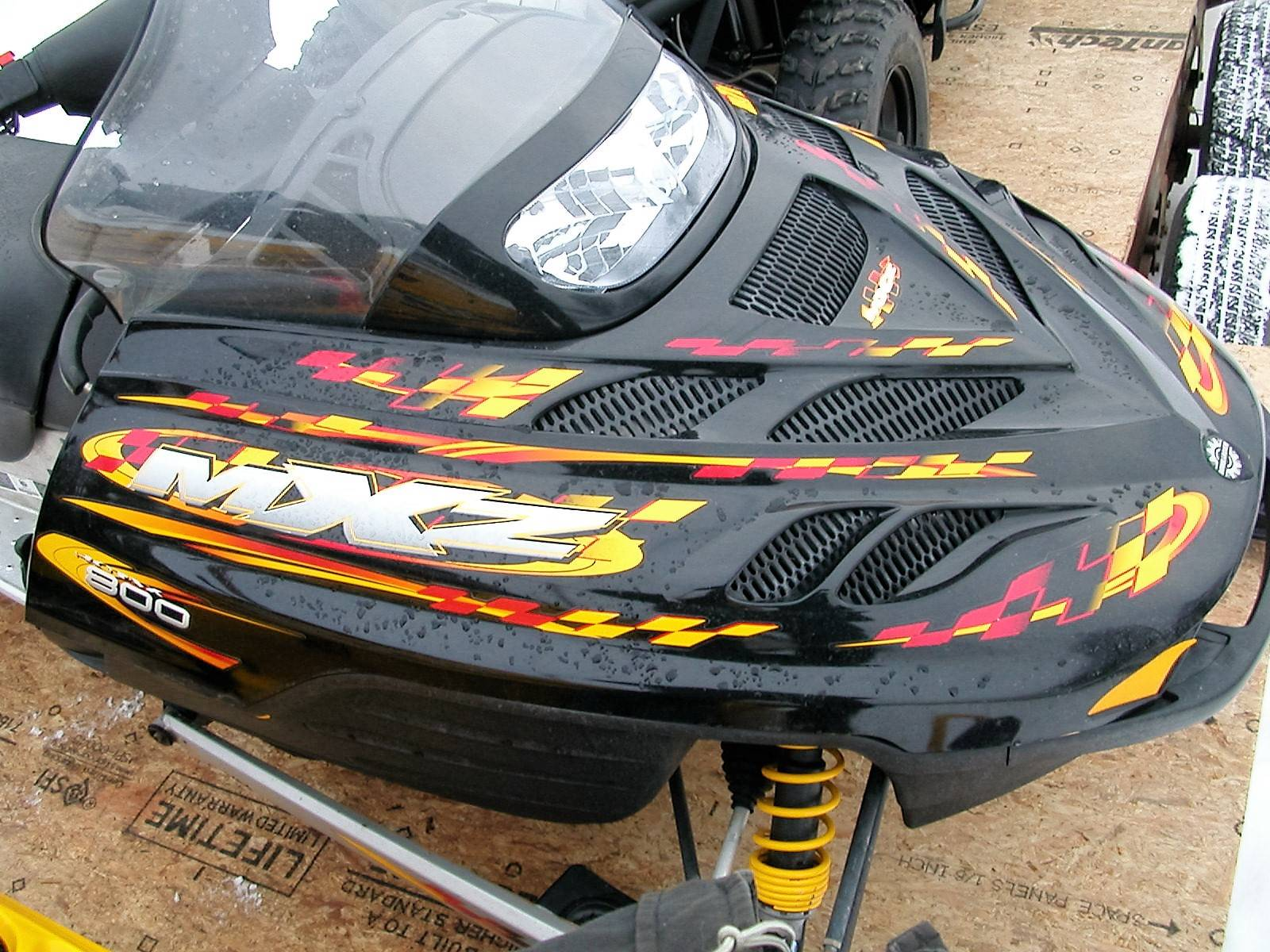 2002 Ski-Doo MX Z - Trail 800 in Le Roy, New York
