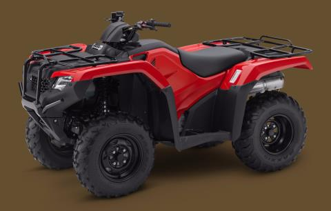 2017 Honda FourTrax Rancher 4x4 DCT IRS in Massillon, Ohio