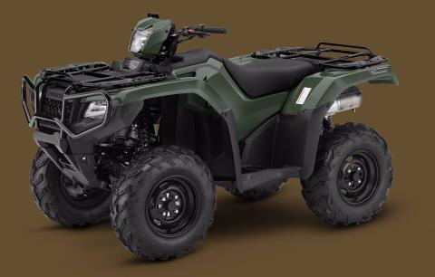 2017 Honda FourTrax Foreman Rubicon 4x4 DCT in Massillon, Ohio