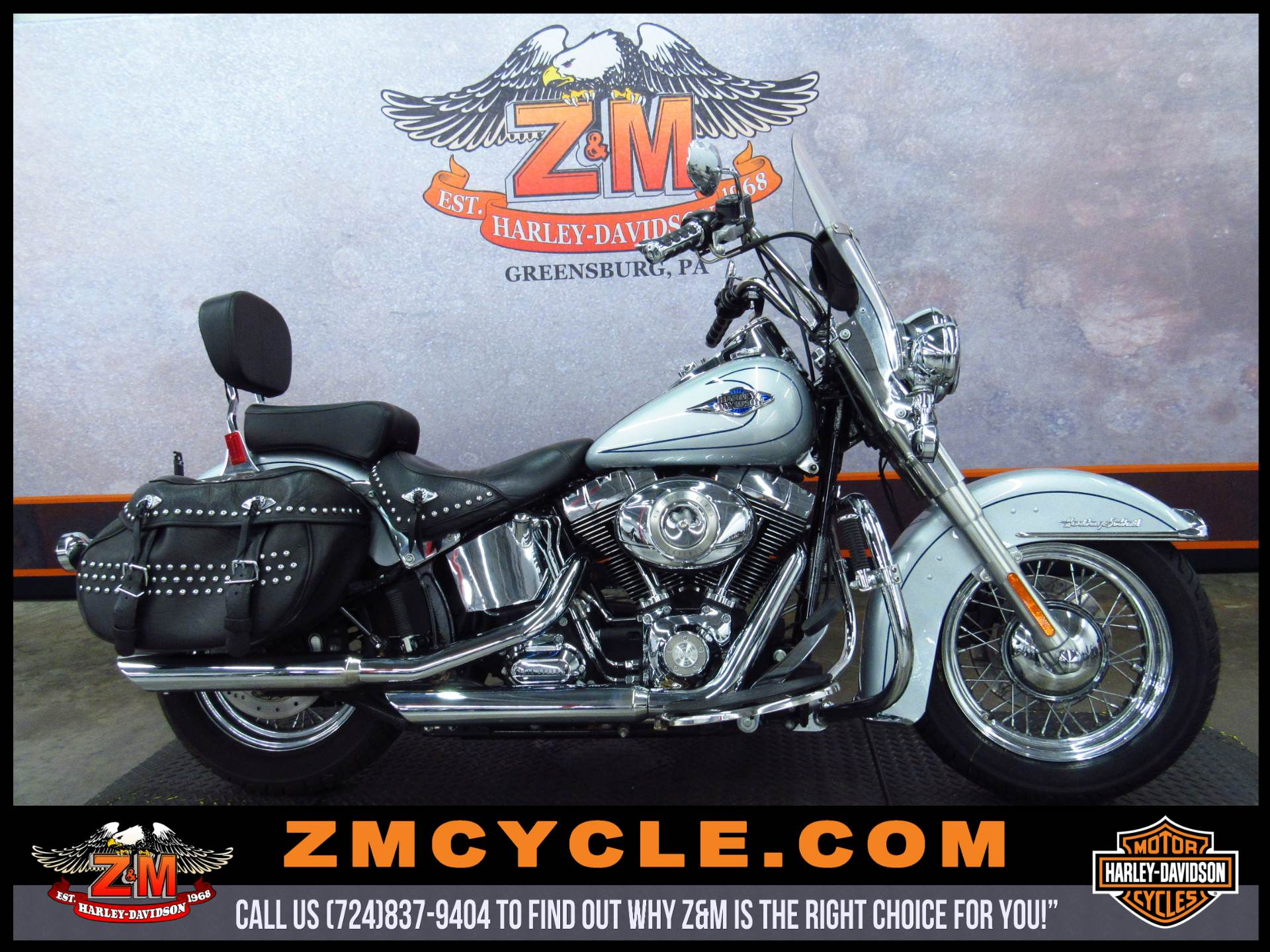 2011 Harley-Davidson Heritage Softail® Classic in Greensburg, Pennsylvania