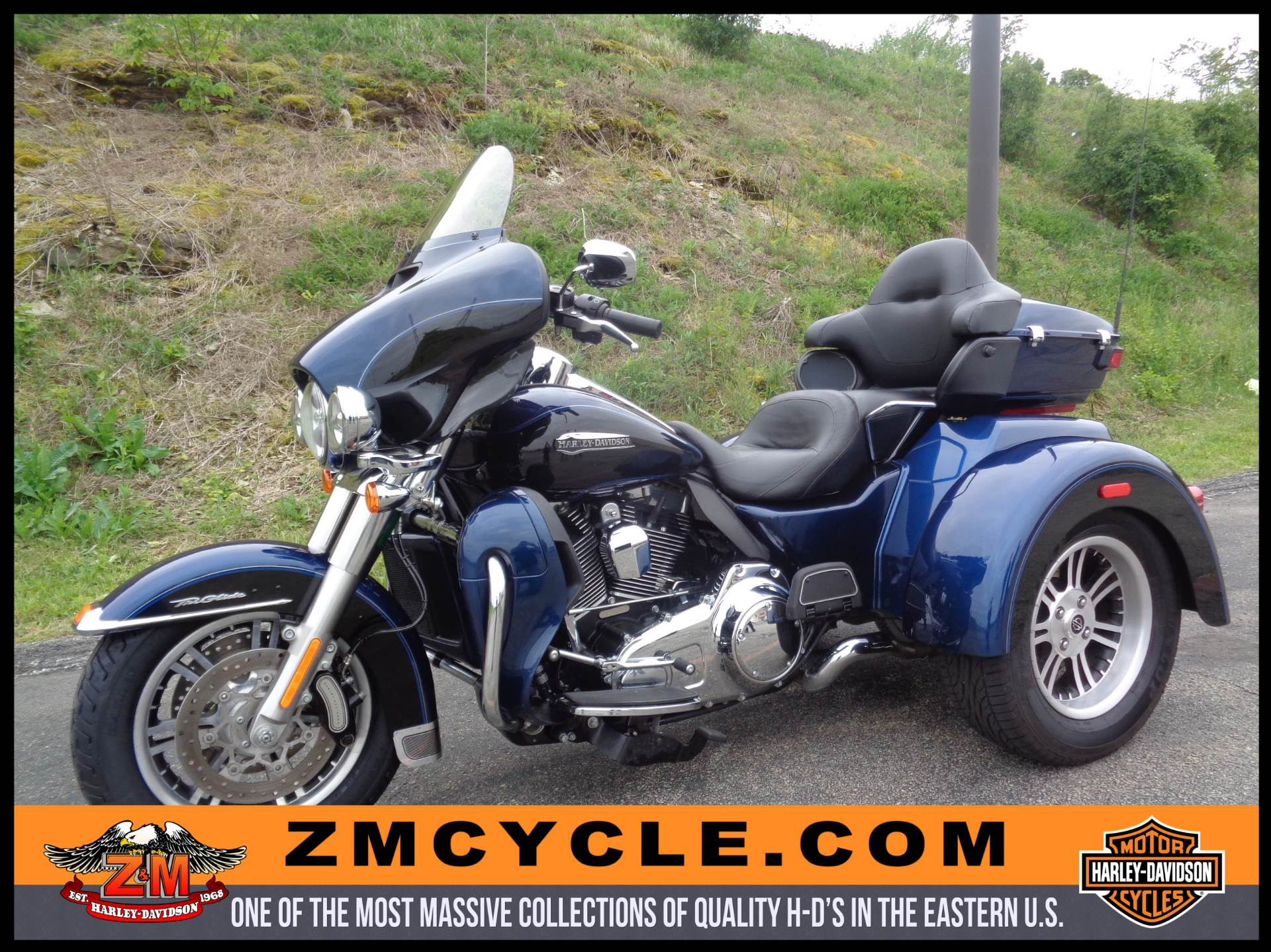2014 Harley-Davidson Tri Glide® Ultra in Greensburg, Pennsylvania