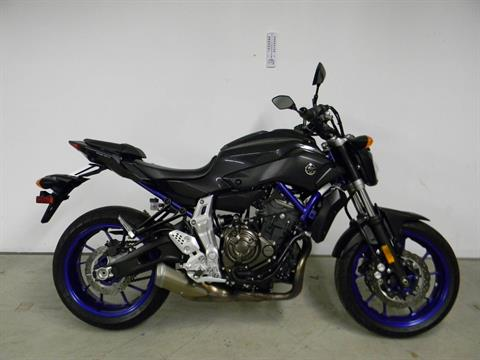 2015 Yamaha FZ-07 in Springfield, Massachusetts