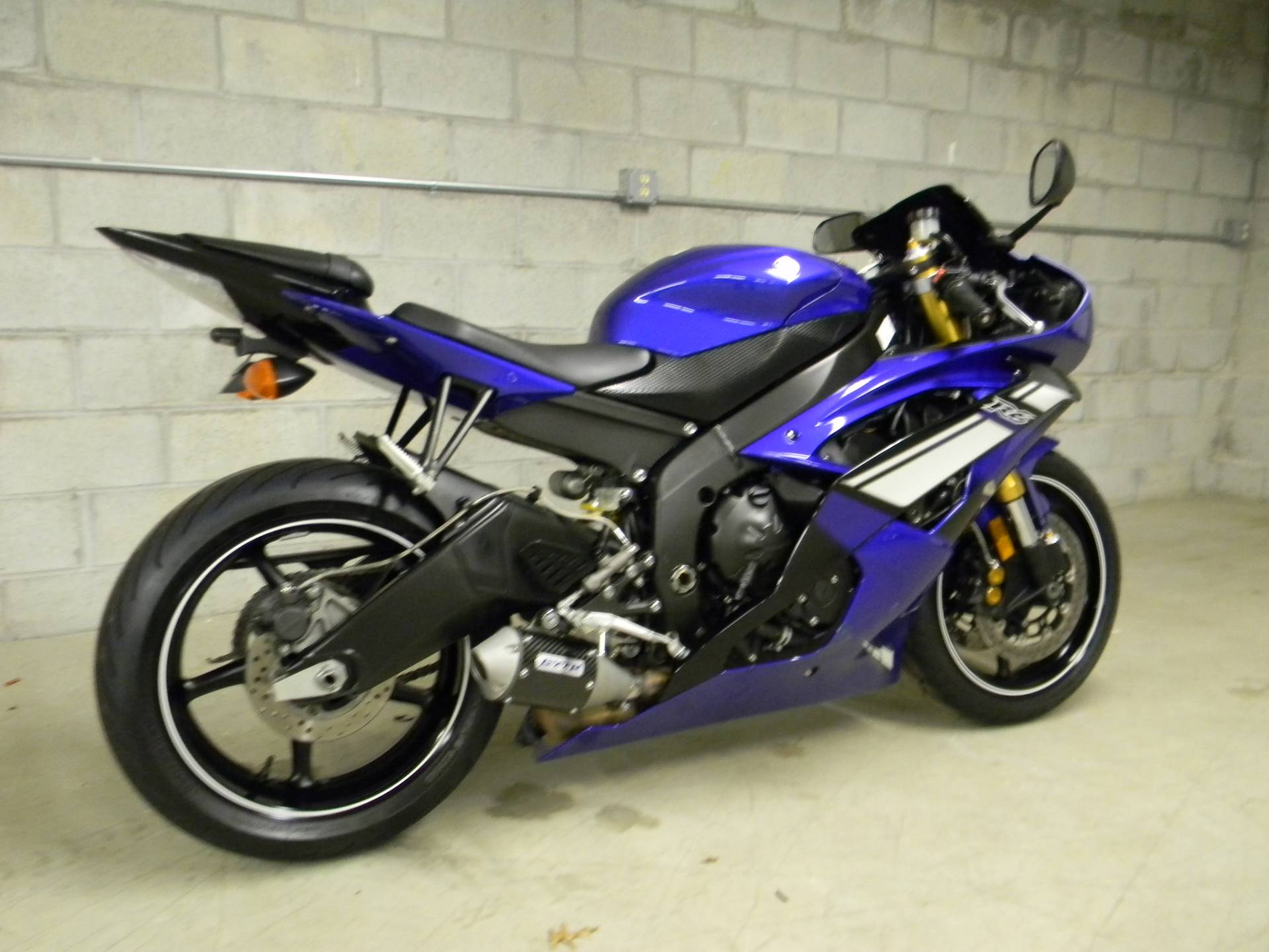 2012 Yamaha YZF-R6 in Springfield, Massachusetts