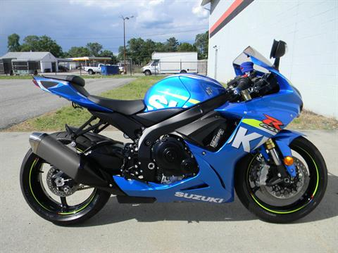 2015 Suzuki GSX-R750 in Springfield, Massachusetts